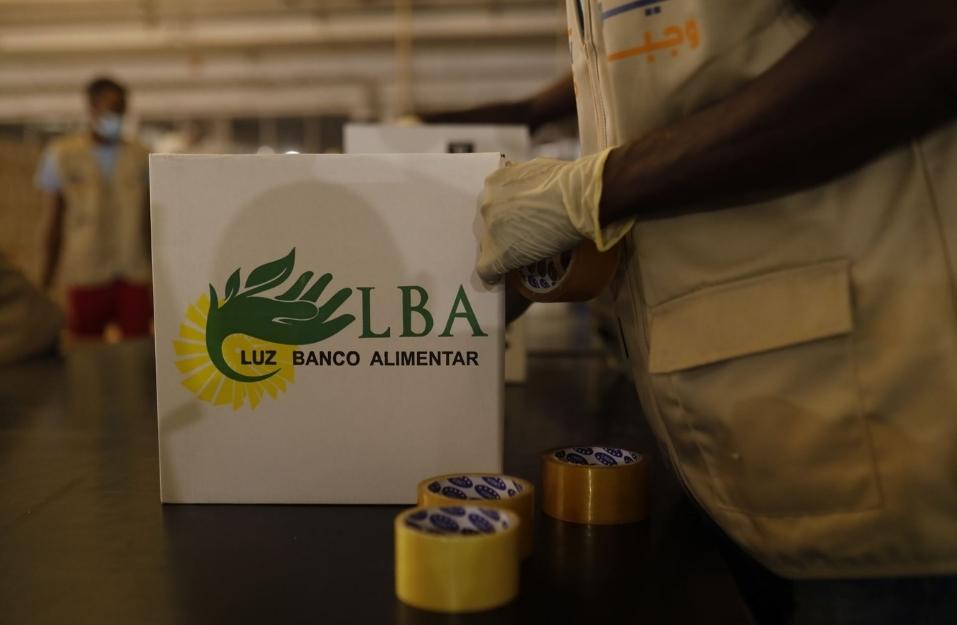 Doação de Alimentos (Angola)